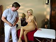 Nina Elle Pussy Licked & Sucked Cock