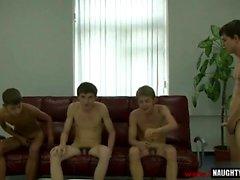 Rus genç oral ve cumshot