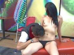 Pussy leccato slut de Latina