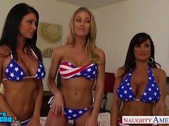Reizvolle Mädchen Jessica Jaymes , Lisa Ann und die Nicole Aniston
