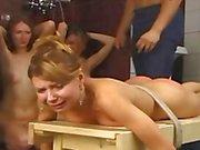 Punishment In Russian Bath House xLx