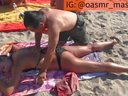 Beautiful Beach Massage (ASS Rubbed)