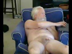 дедушке сперма на вебкамеру