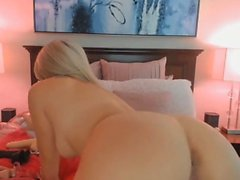 Cute Busty Blonde Loves Playing Her Cunt