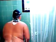 Apolonia from kinkyandlonelycom - Bbw big tits shower