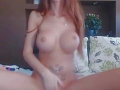 MiaMaxxx Luxury Tattooed Cover Girl anal fingering, glass-buttplug