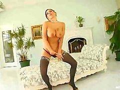Зыбь женщина для нагрева анальном