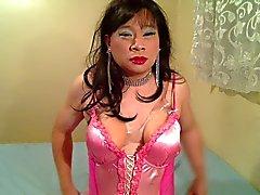 Colore rosa Nightgown uno
