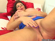 Busty and British milfs Lulu Lush and Alisha Rydes