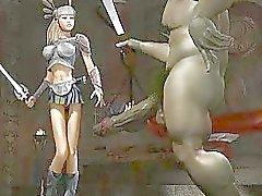 Raar Monsters neuken 3D Babes !