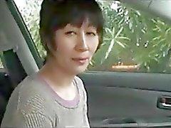 Japanese äldre kvinna är sexiga