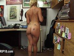 Amateur girls voyeur bang in public place