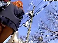 Sexy Upskirt Hidden Camera