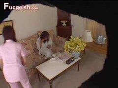 Spycam asiatico Seduced alla Masage Parlor 1