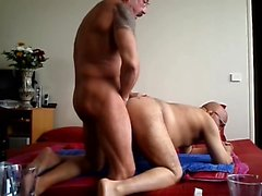 Horny amateur french gays