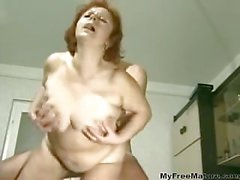 Chubby Mature Fucks With A Virile Man