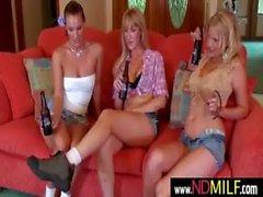 Lesbian MILF seduces nextdoor girl 4