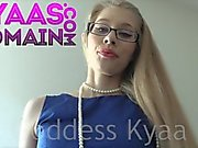 Femdom Pov Goddess Kyaa Humiliates You