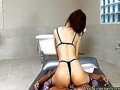 Haruki Kato Cute Asian Babe Enjoys