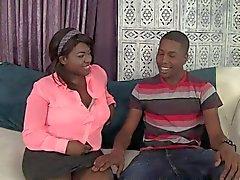 Hombre negro y mujer negro