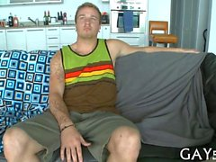 Homosexuell Reiten von ein Dick mit so viel Leidenschaft Gesteine