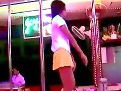 Thai A menina da dança