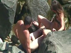 Dando dato a Praia a favore namoradinho safado
