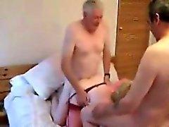 Mature swinger trio in a hotel Yuri from 1fuckdatecom