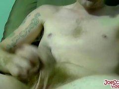 Тощий Лерой попадает своей Dick сосал большой каким роговой пижоном