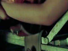 American Horror история : предоставления убежища : Тереса ( Дженна Деван Тэйтум ) Лео ( Адаму Левин )