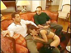 Jennifer Loca - Italian weibchen mit zwei Männern gebumst