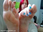 Red Head Orders You To Beg To Kiss My Feet , Loser