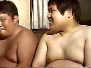 Asiatische des Vatis mollige Homosexuell