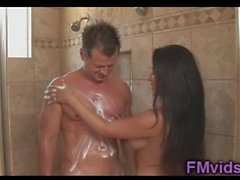 Busty Jenaveve Jolie with horny guy