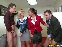 facesitting and humiliation at the office