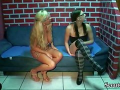 Deutsche Mutter Teach Virgin Step Daughter wie man mit Guy fickt