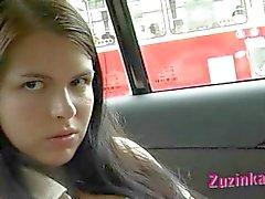 Masturbação em um táxi