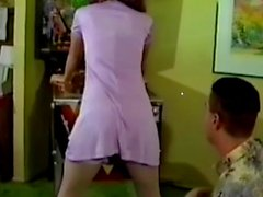 Flipper Pinball Nylon Pantied Girl
