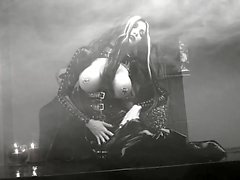 Látex negro Señora gótica