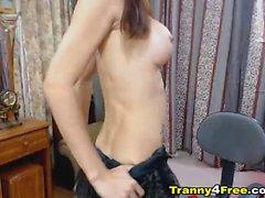 Sexy Asian Solo Tranny Porn