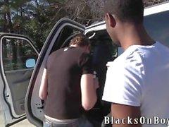Alex Gri A Black Guy By Delinen Onun Ass alır