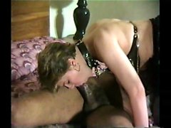 Hot german blonde fucks a big cock