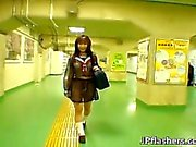 Mikan attractive real real asian college part5