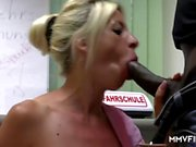 Big Tits Milf Manu Magnum Loves It Black