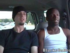 Ace Londra İki Big Black Cocks Takes