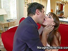 Dana Dearmond is a sweet MILF with natural tits. She's