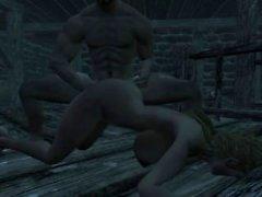 Der Elder Scrolls Skyrim Animierter Sex