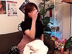 Horny Asian Babe Banging