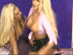 Dannii Harwood und Lucy Summers Babestation