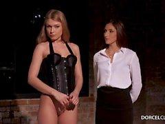 Lucy Sydän Wears Sexy Sukkahousut Vaikka Fucking